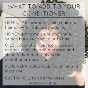 What To Add To Your Conditioner