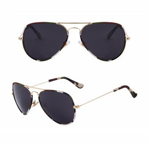 Aviator Camouflage Sunglasses