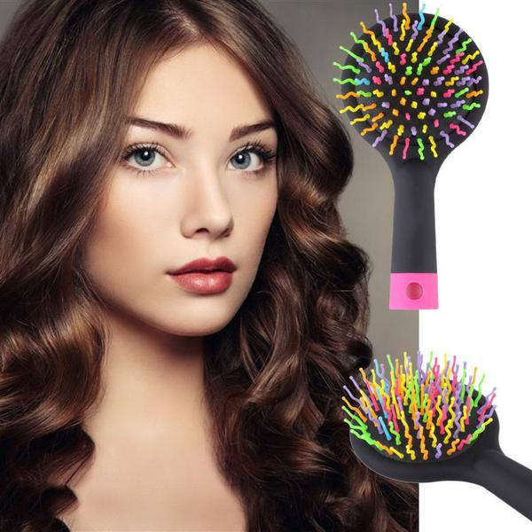 Rainbow Anti-static Magic Comb