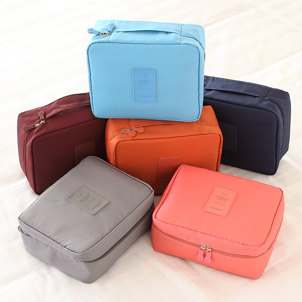 Korean Travel Toiletry Pouch Bag