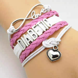 Diabetic Layered Bracelets
