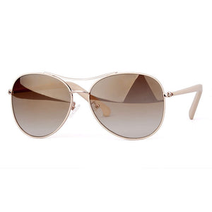 Sporty 58mm Aviator Gradient Sunglasses