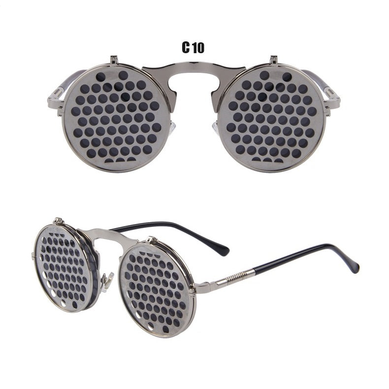 SteamPunk Clamshell Sunglasses