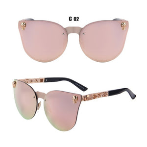 Vogue Skull Frame Sunglasses