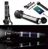 Roadside ASSIST™ 9-IN-1 Multi-Function Flashlight / Survival Tool / Power Bank / Solar & USB