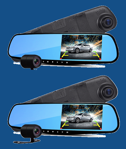 SALE! (2-Pack) UltraCarCam - Dual-lens DVR Car Camera