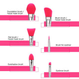 Silicone Make Up Brush Set - Special Offer
