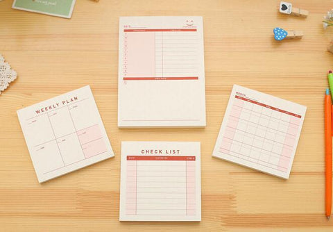 Accessories - Desk Diary Planner | Sticker Pad