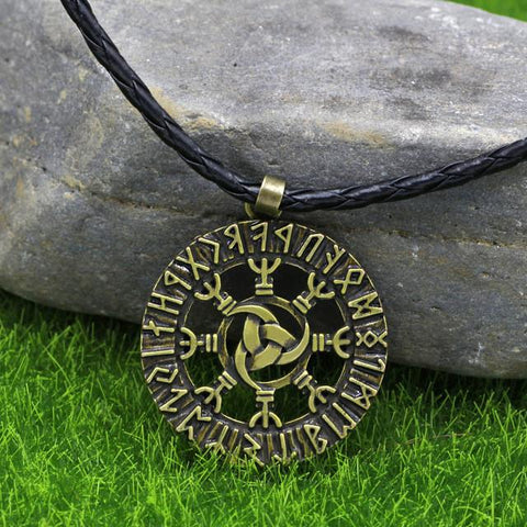 Necklaces - Viking Raiders Runic Pendant