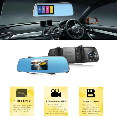 4K Mirror - DVR Truck/SUV Front & Back Camera - Order Today!