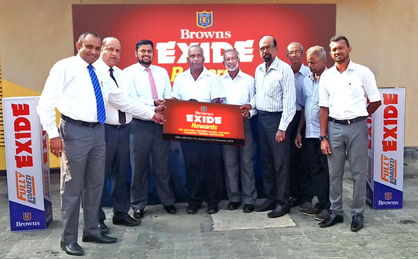 Exide Rewards Loyalty Tie up with BrownsDeals