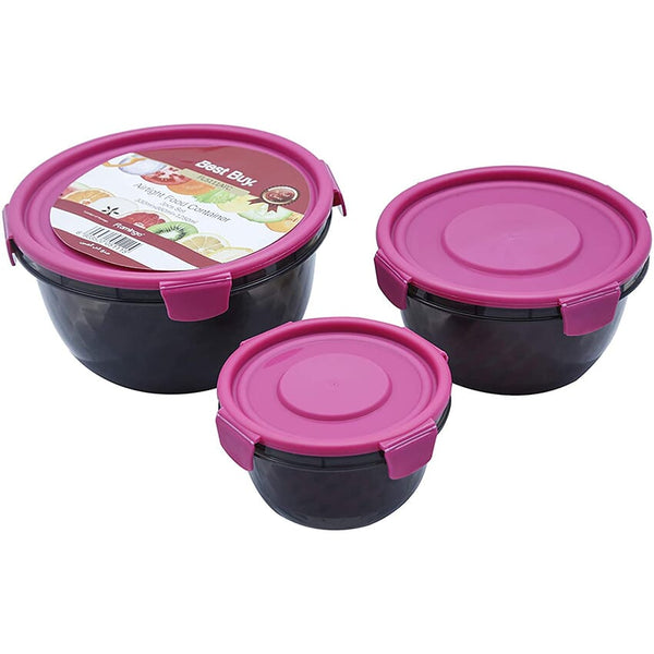 Flamingo Food Container 3pcs Set - FL-5111ATC