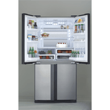 Sharp French Door Inverter Refrigerator- SJ-FS87V-SS