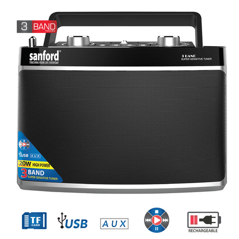 Sanford Portable Radio - SF-3307PR