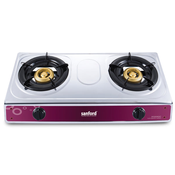 Sanford 2 Burner Gas Cooker - SF 5353GC