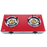 Sanford 2 Burner Glass Top Gas Cooker - SF 5363