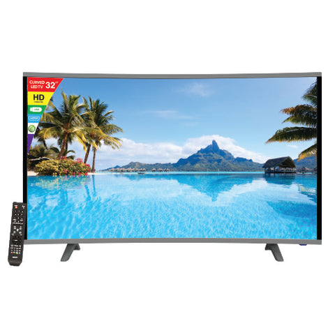 "Sanford  32"" Curved LED TV-SF 9506LED FREE"