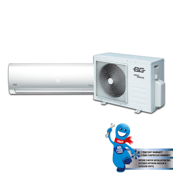 BG 12000 BTU Split Type Inverter Air Conditioner