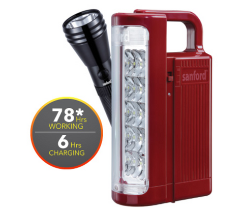 Sanford Emergency Lantern with Rechargeable Searchlight - SF 6213SEC