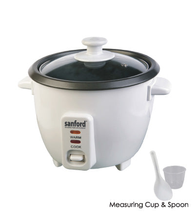 Sanford 0.6L Rice Cooker SF 1157RC