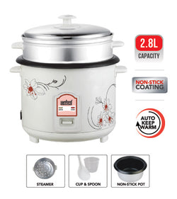 Sanford 2.8L Rice Cooker - SF 2503RC