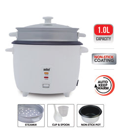 Sanford 1.0L Rice Cooker - SF 2511RC