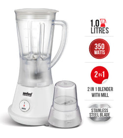 Sanford 1lts 2 In 1 Blender SF-6842BR-BS