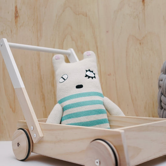 White Wooden Trolley