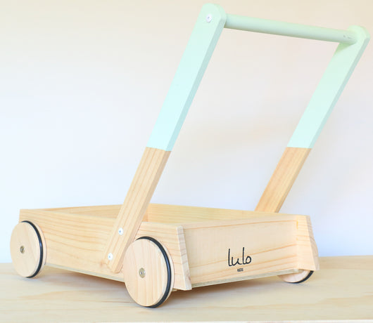 Mint Wooden Trolley
