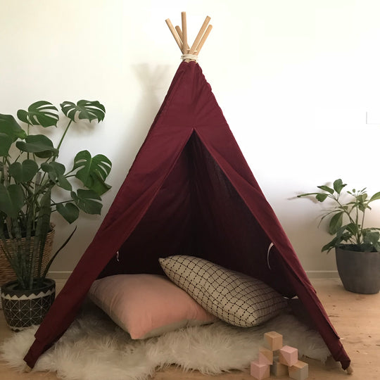 Burgundy Teepee  ( Images to come )