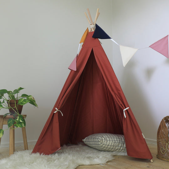 Sample- Rusty Red 4 side Teepee