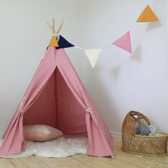 Dusty Pink Teepee