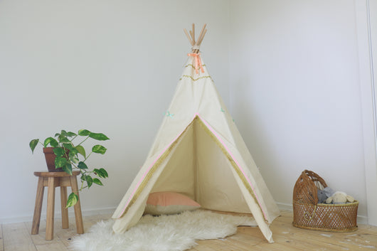 Sample- Pink and Gold Teepee