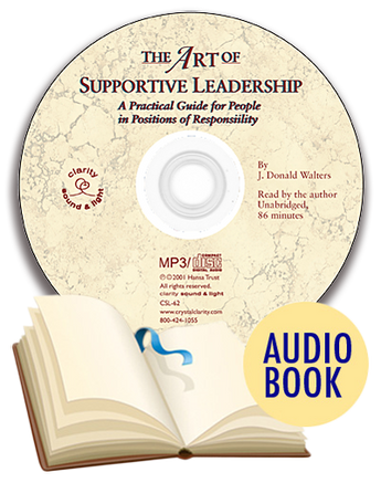 The Art of Supportive Leadership Audio Book (unabridged)