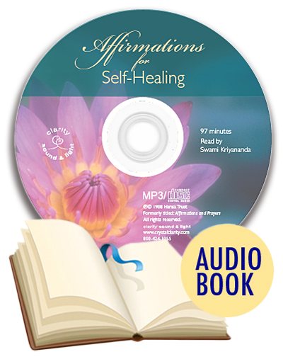 Affirmations for Self-Healing (English or Hindi) with English Audio Book (unabridged)