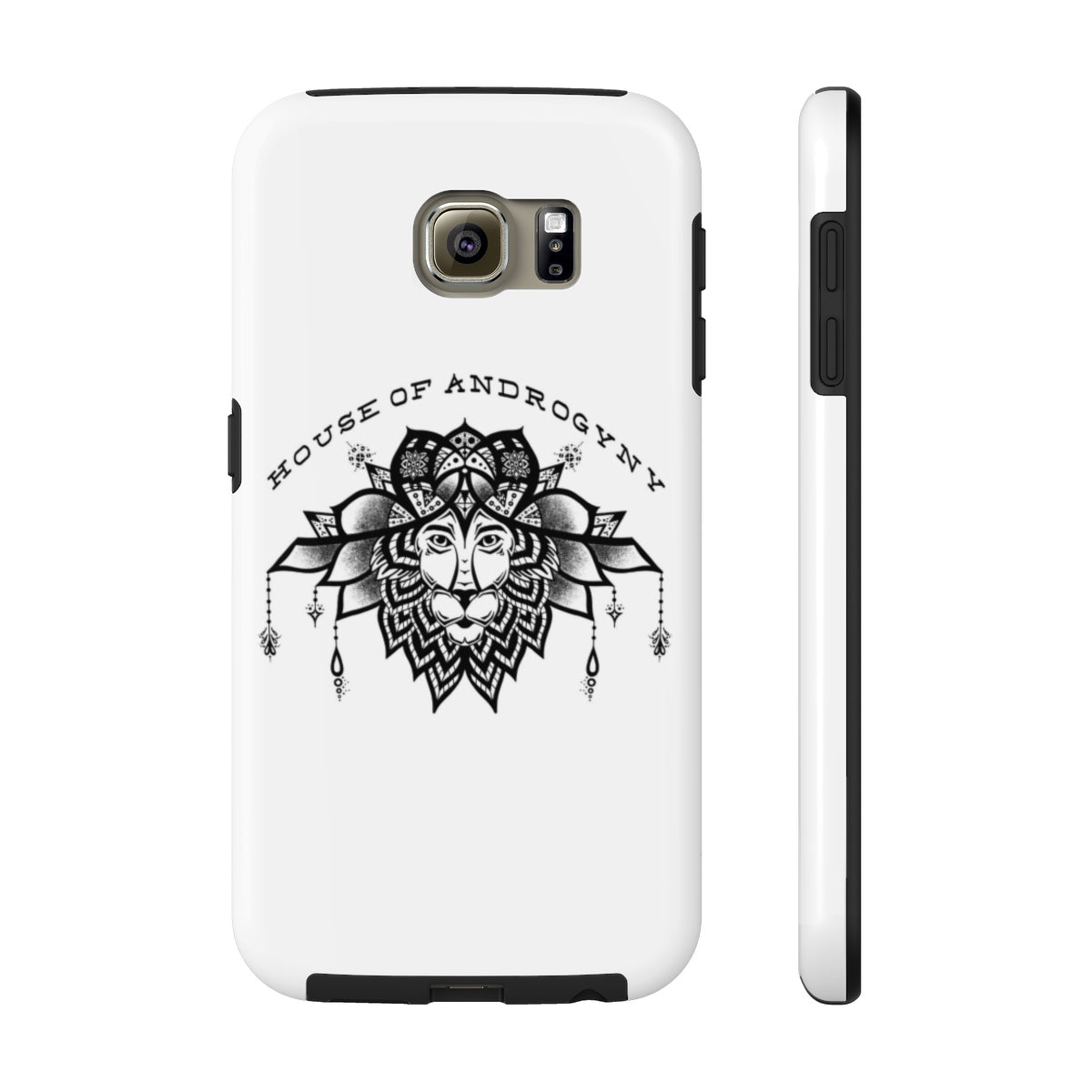 Lion Mandala Tough Phone Case