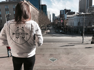 HOA Statement Bomber Jacket White