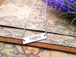 Vegan Proud Necklace
