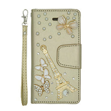 Load image into Gallery viewer, BLING EIFFEL TOWER WALLET CASE