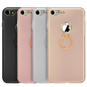 APPLE IPHONE SLIM METAL ALUMINIUM CASE WITH CHROME RING