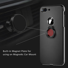 Load image into Gallery viewer, APPLE IPHONE SLIM METAL ALUMINIUM CASE WITH CHROME RING