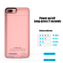 Load image into Gallery viewer, BATTERY CHARGING CASE ROSE GOLD