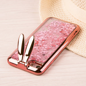 COMING SOON!!!!! BUNNY EAR LIQUID GLITTER CASE