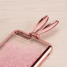 Load image into Gallery viewer, COMING SOON!!!!! BUNNY EAR LIQUID GLITTER CASE