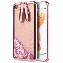Load image into Gallery viewer, BUNNY EAR LIQUID GLITTER CASE
