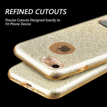 Load image into Gallery viewer, APPLE IPHONE 7 STARRY DAZZLE LUXURY TPU COVER CASE WITH KICK STAND