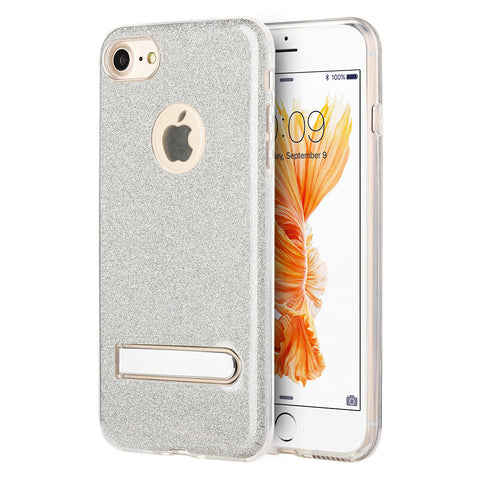 APPLE IPHONE 7 STARRY DAZZLE LUXURY TPU COVER CASE WITH KICK STAND