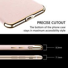 Load image into Gallery viewer, APPLE IPHONE SAFFIANO LUXURY TPU CASE BUILT-IN MAGNETIC METAL PLATE