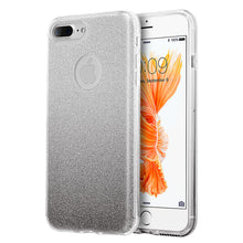 Load image into Gallery viewer, STARRY DAZZLE 2TONE GLITTER CASE SILVER GREY