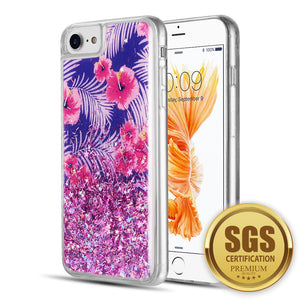 FOR IPHONE 8 / 7 / 6 PLUS QUICKSAND - TROPICAL FLORAL